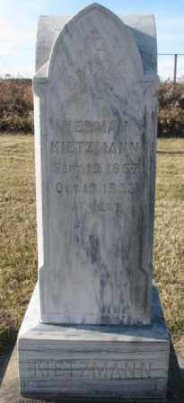 KIETZMANN, HERMAN - Yankton County, South Dakota   HERMAN KIETZMANN - South Dakota Gravestone Photos