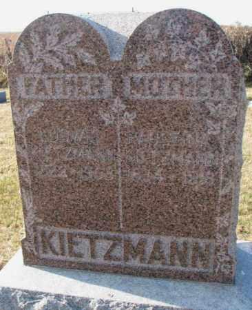 KIETZMANN, PAULEINA - Yankton County, South Dakota | PAULEINA KIETZMANN - South Dakota Gravestone Photos