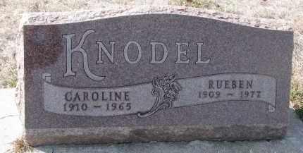 KNODEL, RUEBEN - Yankton County, South Dakota | RUEBEN KNODEL - South Dakota Gravestone Photos