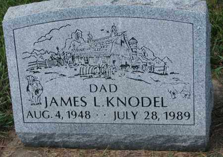 KNODEL, JAMES L. - Yankton County, South Dakota | JAMES L. KNODEL - South Dakota Gravestone Photos