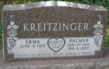 KREITZINGER, PALMER - Yankton County, South Dakota   PALMER KREITZINGER - South Dakota Gravestone Photos
