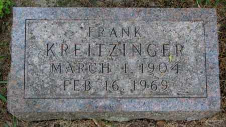 KREITZINGER, FRANK - Yankton County, South Dakota   FRANK KREITZINGER - South Dakota Gravestone Photos