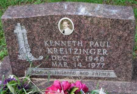 KREITZINGER, KENNETH PAUL - Yankton County, South Dakota   KENNETH PAUL KREITZINGER - South Dakota Gravestone Photos