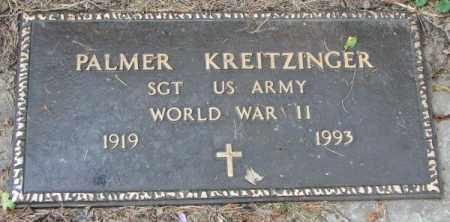 KREITZINGER, PALMER (WW II) - Yankton County, South Dakota | PALMER (WW II) KREITZINGER - South Dakota Gravestone Photos