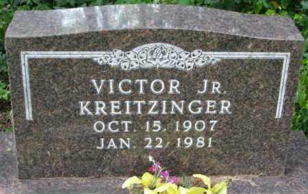 KREITZINGER, VICTOR JR. - Yankton County, South Dakota   VICTOR JR. KREITZINGER - South Dakota Gravestone Photos