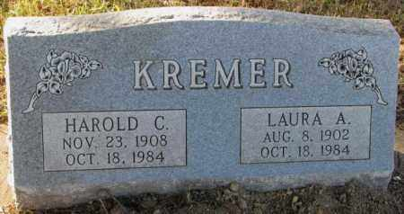 KREMER, LAURA A. - Yankton County, South Dakota | LAURA A. KREMER - South Dakota Gravestone Photos