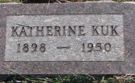 KUK, KATHERINE - Yankton County, South Dakota | KATHERINE KUK - South Dakota Gravestone Photos