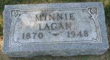 LAGAN, MINNIE - Yankton County, South Dakota   MINNIE LAGAN - South Dakota Gravestone Photos