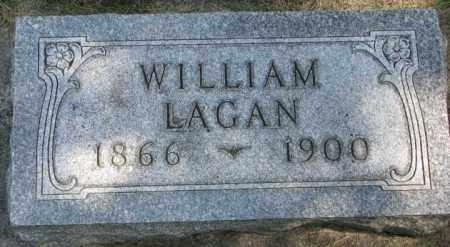 LAGAN, WILLIAM - Yankton County, South Dakota   WILLIAM LAGAN - South Dakota Gravestone Photos