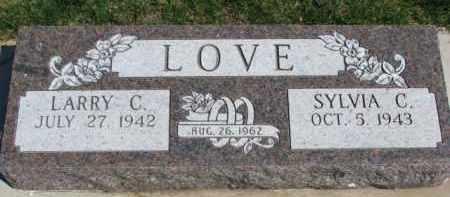 LOVE, SYLVIA C. - Yankton County, South Dakota | SYLVIA C. LOVE - South Dakota Gravestone Photos