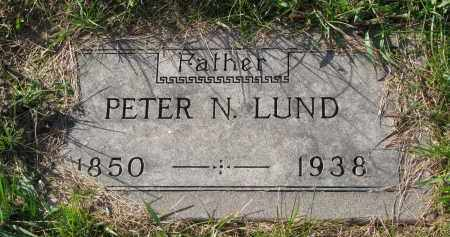 LUND, PETER N. - Yankton County, South Dakota | PETER N. LUND - South Dakota Gravestone Photos