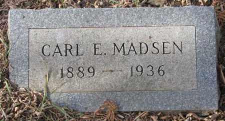 MADSEN, CARL E. - Yankton County, South Dakota | CARL E. MADSEN - South Dakota Gravestone Photos