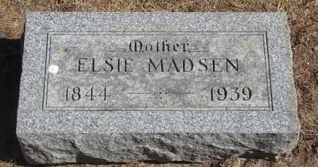 MADSEN, ELSIE - Yankton County, South Dakota | ELSIE MADSEN - South Dakota Gravestone Photos