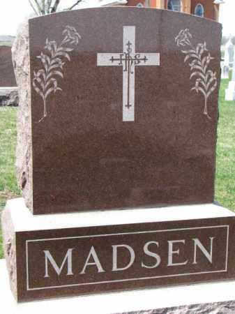 MADSEN, FAMILY STONE - Yankton County, South Dakota   FAMILY STONE MADSEN - South Dakota Gravestone Photos