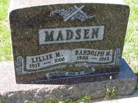 MADSEN, LILLIE M. - Yankton County, South Dakota | LILLIE M. MADSEN - South Dakota Gravestone Photos