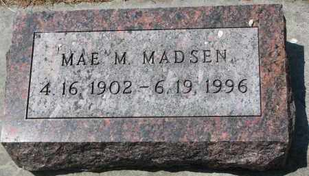MADSEN, MAE M. - Yankton County, South Dakota | MAE M. MADSEN - South Dakota Gravestone Photos