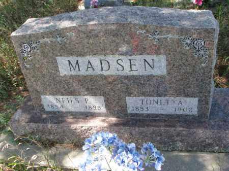 MADSEN, TONETTA - Yankton County, South Dakota | TONETTA MADSEN - South Dakota Gravestone Photos