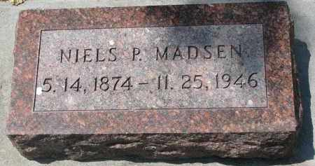 MADSEN, NIELS P. - Yankton County, South Dakota | NIELS P. MADSEN - South Dakota Gravestone Photos
