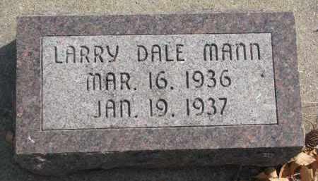 MANN, LARRY DALE - Yankton County, South Dakota | LARRY DALE MANN - South Dakota Gravestone Photos