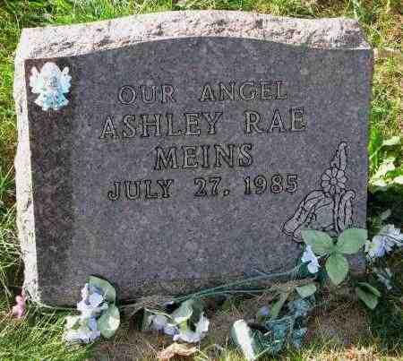 MEINS, ASHLEY RAE - Yankton County, South Dakota   ASHLEY RAE MEINS - South Dakota Gravestone Photos