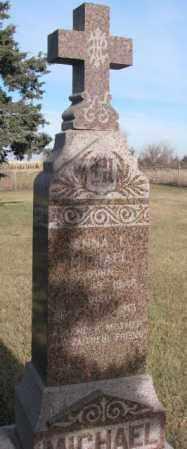 MICHAELS, ANNA L. - Yankton County, South Dakota | ANNA L. MICHAELS - South Dakota Gravestone Photos