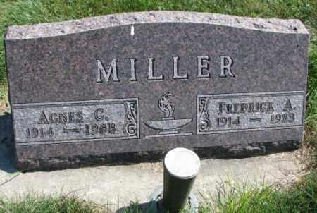 MILLER, AGNES C. - Yankton County, South Dakota | AGNES C. MILLER - South Dakota Gravestone Photos