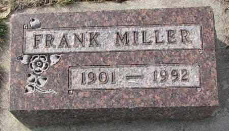 MILLER, FRANK - Yankton County, South Dakota   FRANK MILLER - South Dakota Gravestone Photos