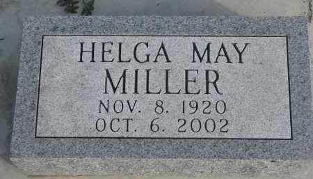 MILLER, HELGA MAY - Yankton County, South Dakota | HELGA MAY MILLER - South Dakota Gravestone Photos
