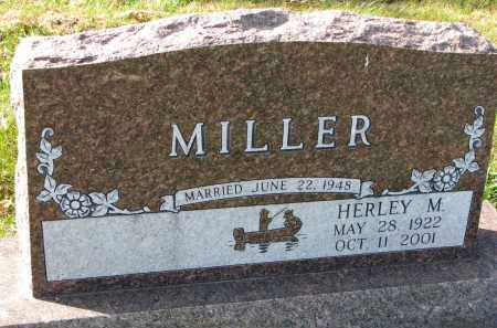 MILLER, HERLEY M. - Yankton County, South Dakota | HERLEY M. MILLER - South Dakota Gravestone Photos