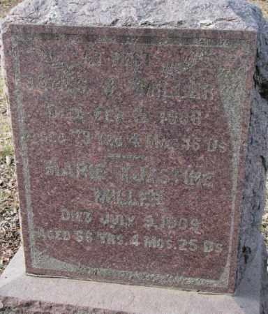 MILLER, JAMES J. - Yankton County, South Dakota   JAMES J. MILLER - South Dakota Gravestone Photos