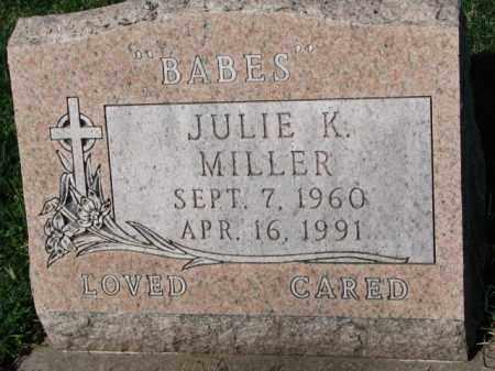 MILLER, JULIE K. - Yankton County, South Dakota   JULIE K. MILLER - South Dakota Gravestone Photos