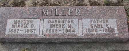 MILLER, CARL E. - Yankton County, South Dakota | CARL E. MILLER - South Dakota Gravestone Photos