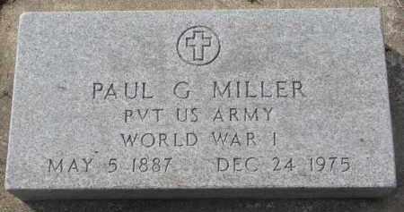 MILLER, PAUL G. - Yankton County, South Dakota | PAUL G. MILLER - South Dakota Gravestone Photos