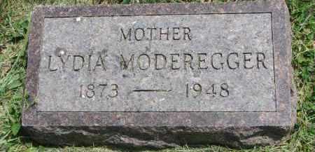 MODEREGGER, LYDIA - Yankton County, South Dakota   LYDIA MODEREGGER - South Dakota Gravestone Photos