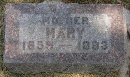 MODEREGGER, MARY - Yankton County, South Dakota | MARY MODEREGGER - South Dakota Gravestone Photos