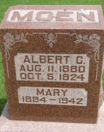 MOEN, ALBERT C. - Yankton County, South Dakota | ALBERT C. MOEN - South Dakota Gravestone Photos