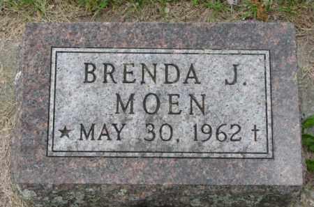 MOEN, BRENDA J. - Yankton County, South Dakota   BRENDA J. MOEN - South Dakota Gravestone Photos