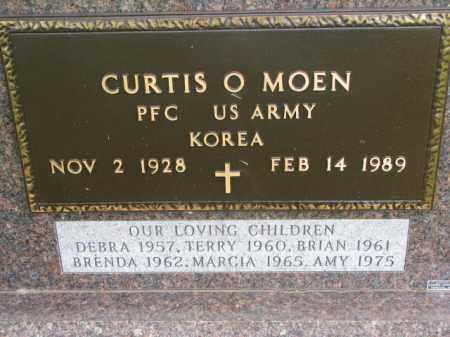 MOEN, CURTIS O. (MILITARY) - Yankton County, South Dakota | CURTIS O. (MILITARY) MOEN - South Dakota Gravestone Photos