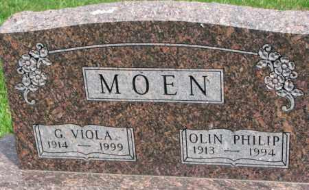 MOEN, OLIN PHILIP - Yankton County, South Dakota   OLIN PHILIP MOEN - South Dakota Gravestone Photos
