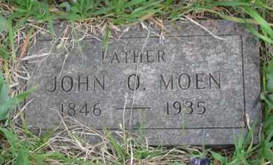 MOEN, JOHN O. - Yankton County, South Dakota | JOHN O. MOEN - South Dakota Gravestone Photos