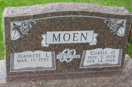 MOEN, JEANETTE L. - Yankton County, South Dakota | JEANETTE L. MOEN - South Dakota Gravestone Photos