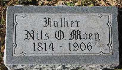 MOEN, NILS - Yankton County, South Dakota   NILS MOEN - South Dakota Gravestone Photos