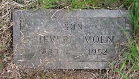 MOEN, SIEVERT - Yankton County, South Dakota | SIEVERT MOEN - South Dakota Gravestone Photos