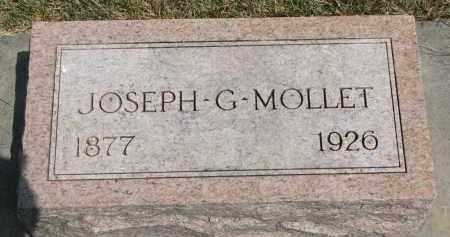 MOLLET, JOSEPH G. - Yankton County, South Dakota   JOSEPH G. MOLLET - South Dakota Gravestone Photos