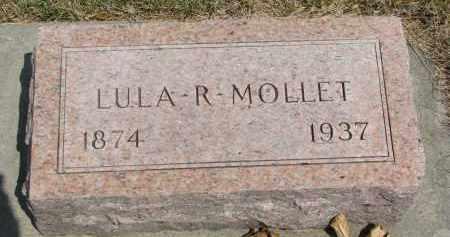 MOLLET, LULA R. - Yankton County, South Dakota   LULA R. MOLLET - South Dakota Gravestone Photos