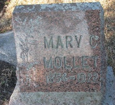 MOLLET, MARY C. - Yankton County, South Dakota | MARY C. MOLLET - South Dakota Gravestone Photos