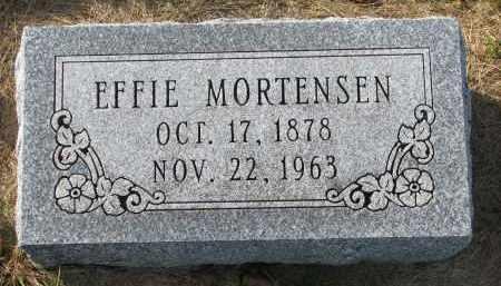 MORTENSEN, EFFIE - Yankton County, South Dakota | EFFIE MORTENSEN - South Dakota Gravestone Photos