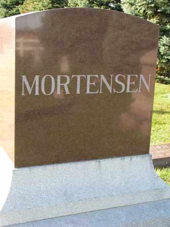MORTENSEN, FAMILY STONE - Yankton County, South Dakota | FAMILY STONE MORTENSEN - South Dakota Gravestone Photos