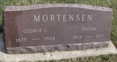 MORTENSEN, REGINA - Yankton County, South Dakota | REGINA MORTENSEN - South Dakota Gravestone Photos