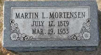 MORTENSEN, MARTIN L. - Yankton County, South Dakota   MARTIN L. MORTENSEN - South Dakota Gravestone Photos